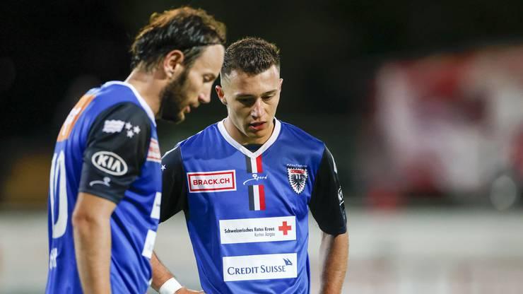 Der FC Aarau steht in dieser Saison noch ohne Punkte da.