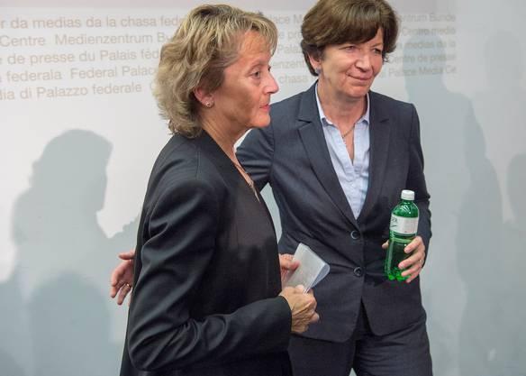 Brigitte Hauser-Süess arbeitete schon für Eveline Widmer-Schlumpf.