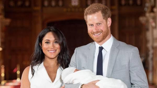 Sein Name: «Archie Harrison Mountbatten-Windsor»