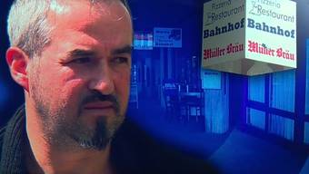 Vor seinem eigenen Restaurant Bahnhöfli wurde der Wirt von mehreren Personen angegriffen.