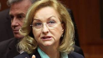 Österreichs Finanzministerin Maria Fekter