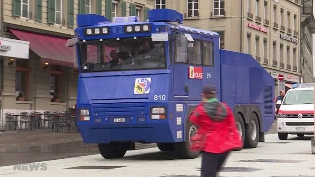 Polizeieinsatz in Bern