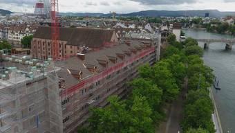 Der Umbau der Kaserne zum Kultur- und Quartierzentrum ist in vollem Gange – der Betrieb steht aber immer noch auf wackeligen Füssen.