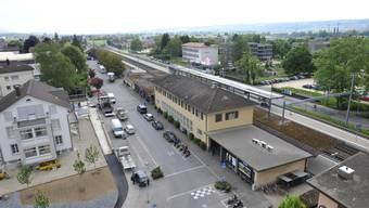 Der Mann wurde beim Bahnhof Grenchen Süd aufgefunden. (Archiv)