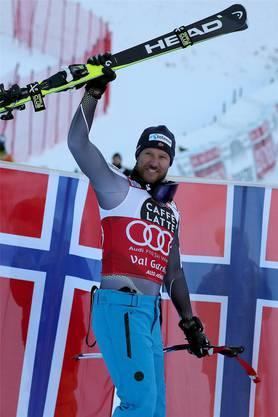 Der faire Sportsmann sagt Adieu: Aksel Lund Svindal.