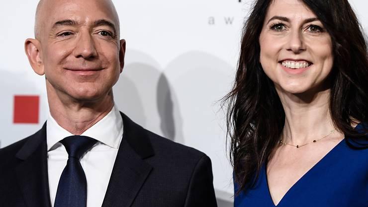 Der Chef von Amazon, Jeff Bezos, hat sich nach der Trennung von seiner Frau eine neue Luxus-Bleibe in New York gekauft. (Archivbild)