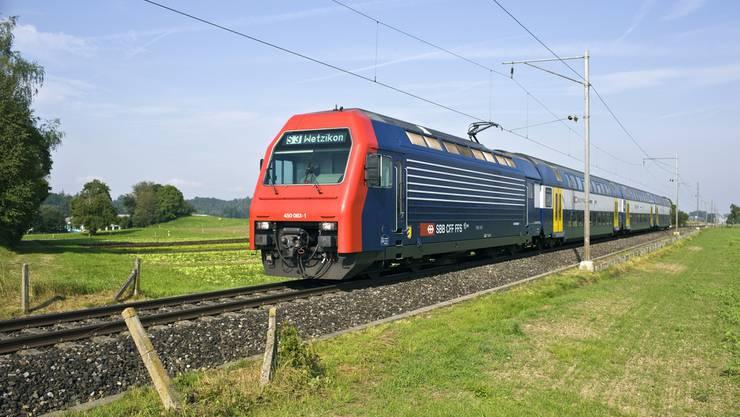 Die S3 unterwegs zwischen Aarau und Wetzikon. (Archiv)