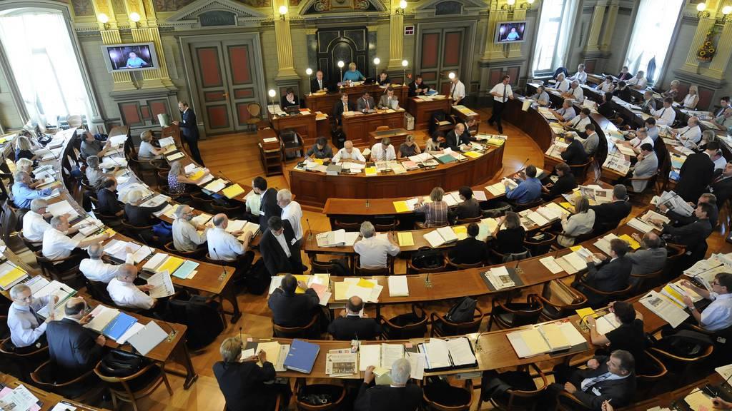 Der St.Galler Kantonsrat diskutierte fünf Stunden über das Budget 2017 (Archivbild)