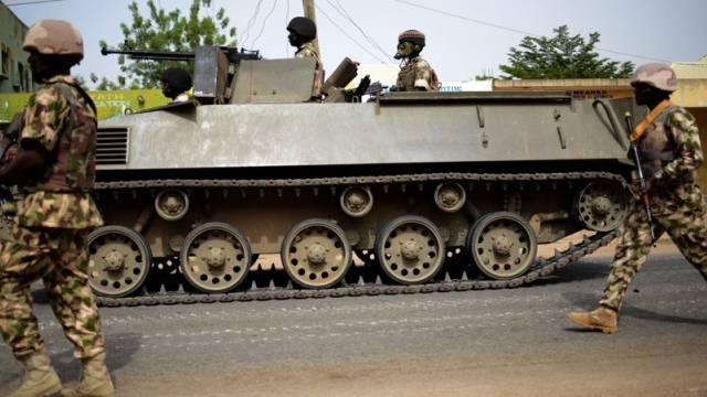 Erfolge im Kampf gegen Boko Haram: Nigerianische Soldaten (Archiv)