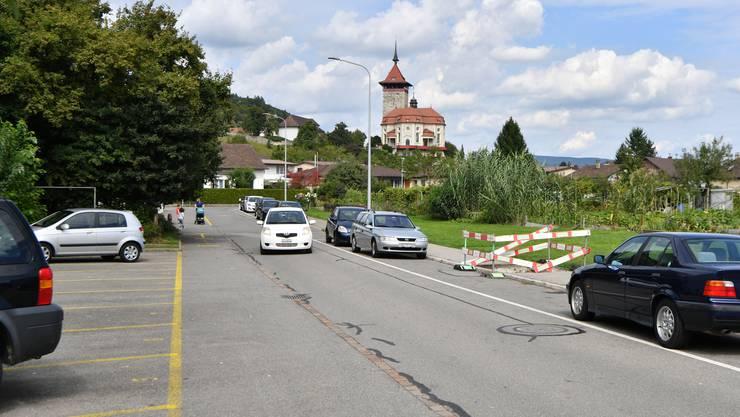Die Strohackerstrasse könnte bald zu einer Einbahnstrasse werden.