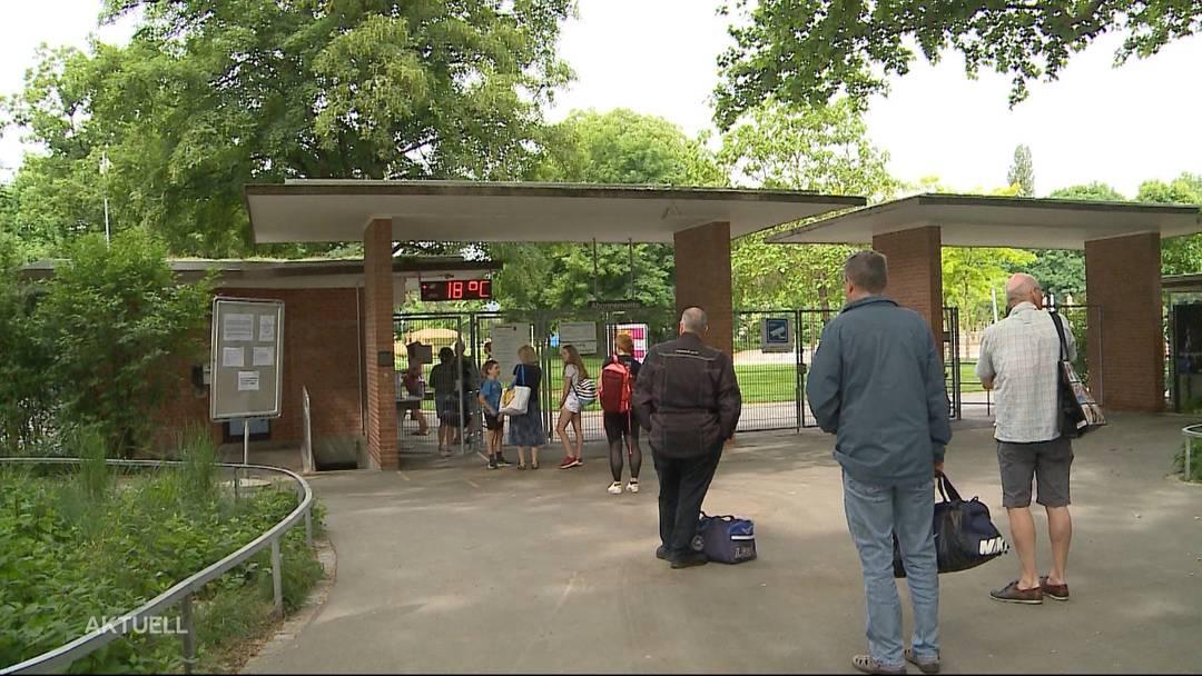 Trotz strenger Regeln ist der Andrang in der Badi Aarau gross