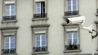 Videoüberwachung: Auch sie soll im neuen Gesetz geregelt werden.