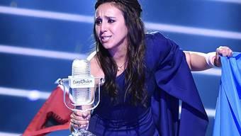 Jamala holte mit ihrem diesjährigen Sieg den Eurovision Song Contest in die Ukraine. Jetzt weiss man auch, in welche Stadt: Kiew. (Archivbild)