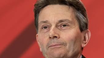In Berlin ist Rolf Mützenich mit überwältigender Mehrheit zum SPD-Fraktionsvorsitzenden gewählt worden. (Archivbild)