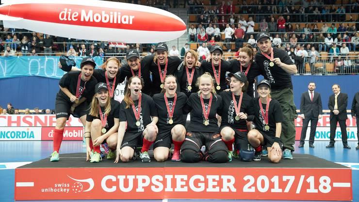 Der UHC Oekingen sicherte sich zum fünften Mal den Ligacup.