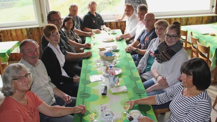 Vreni Meier (vli) heisst die Waldshuter Delegation willkommen