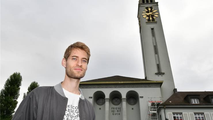 Simon Aeberhard hat einen Teilerfolg erreicht: Die Glocken der Friedenskirche setzen das viertelstündliche Geläut von 0.15 bis 6 Uhr aus.