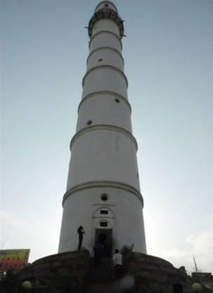 Der Dharahara-Turm stand fast 200 Jahre lang