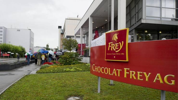 Das Hauptquartier der Chocolat Frey AG in Buchs.