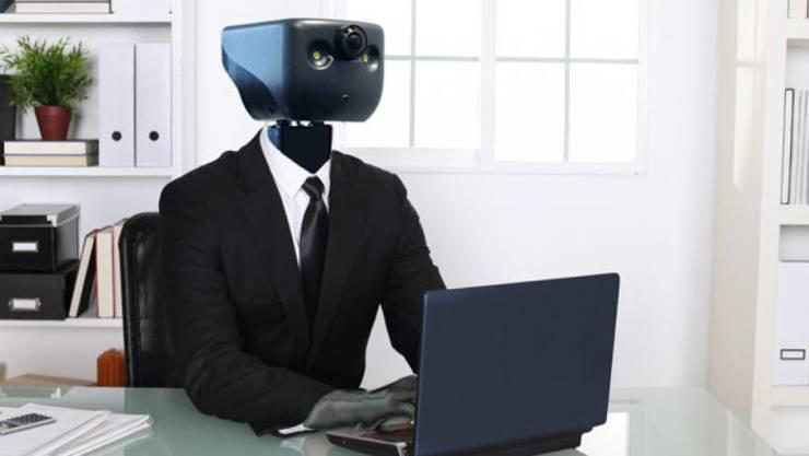 Wenn der Roboter übernimmt: Die Entwicklung der künstlichen Intelligenz gefährdet die Jobs der Akademiker.