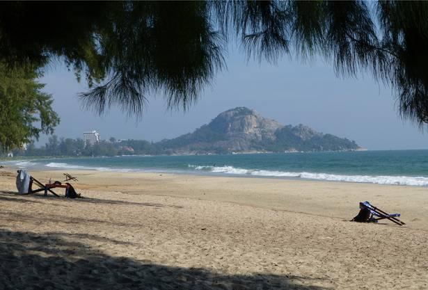 Stundenlang ist der Oltner Rentner an diesem Strand entlangspaziert.
