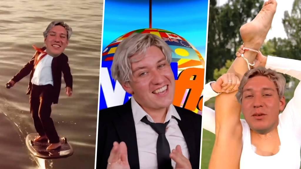 Ein Mann mit vielen Körpern – Appenzeller Marius Bear mit neuem Musikvideo
