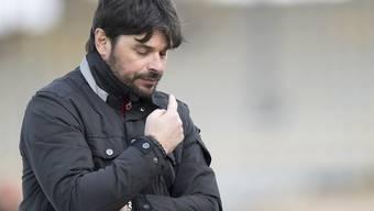 Trainer Ciriaco Sforza ist mit dem FC Wil noch nicht über dem Berg