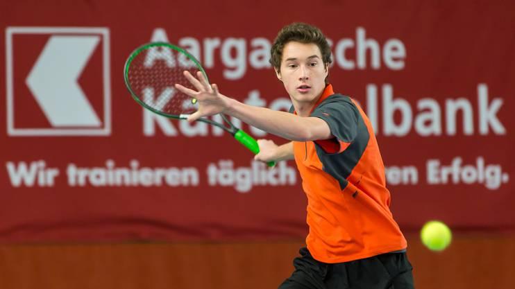 U18-Schweizer-Meister Jakub Paul steht im Halbfinal der Swiss Junior Trophy in Oberentfelden.