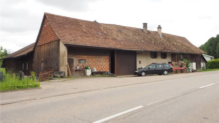 Der Bauernhof in Boningen, auf dem 16 Tiere qualvoll verendeten.