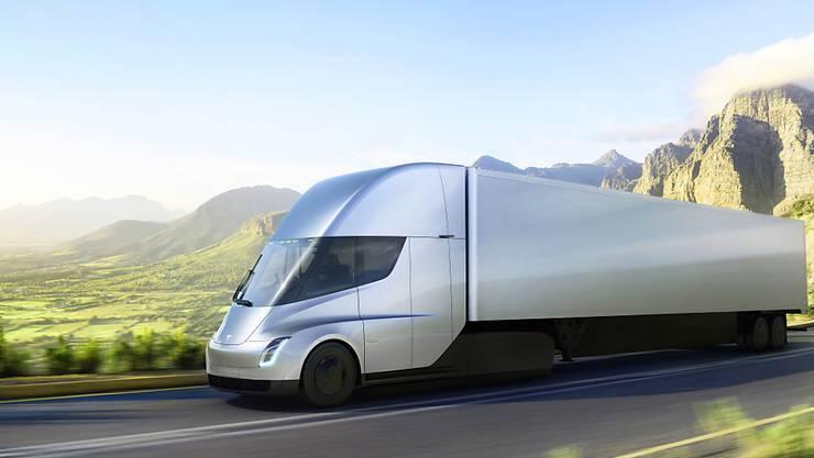 Tesla will neu auch Lastwagen herstellen. (Symbolbild)