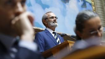 Der Zürcher GLP-Nationalrat Thomas Weibel erklärt die Anträge der Kommission zur Reform der Altersvorsorge. Besonders umstritten sind der Rentenzuschlag von 70 Franken und die Schuldenbremse für die AHV.