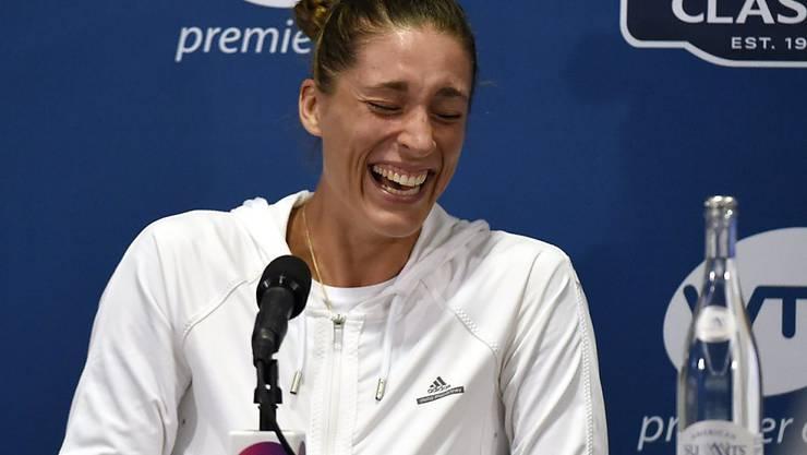 Noch Tennisspielerin, aber bald auch TV-Moderatorin beim ZDF: Andrea Petkovic