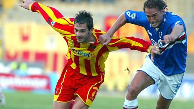 Stefano Bettarini (rechts) war früher Spieler, heute Berater.