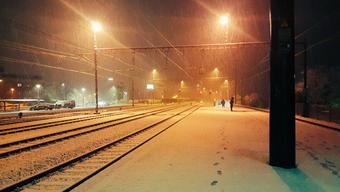 Nach fast schon frühlingshaften Temperaturen hat ein erneuter Wintereinbruch die Schweiz heimgesucht.