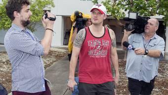 Nick Carter, nachdem er am 14. Januar gegen eine Kaution von 1500 Dollar entlassen aus der Haft wurde, muss am 8. Februar vor Gericht erscheinen (Archiv).