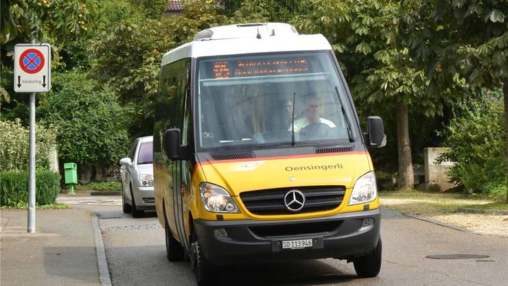 Einen Ortsbus wie das in Oensingen verkehrende «Oensingerli» wird es in Egerkingen nicht geben.