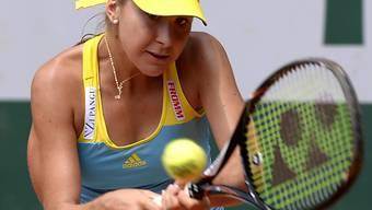 Belinda Bencic zog gegen Antonia Lottner nicht ihren besten Tag ein