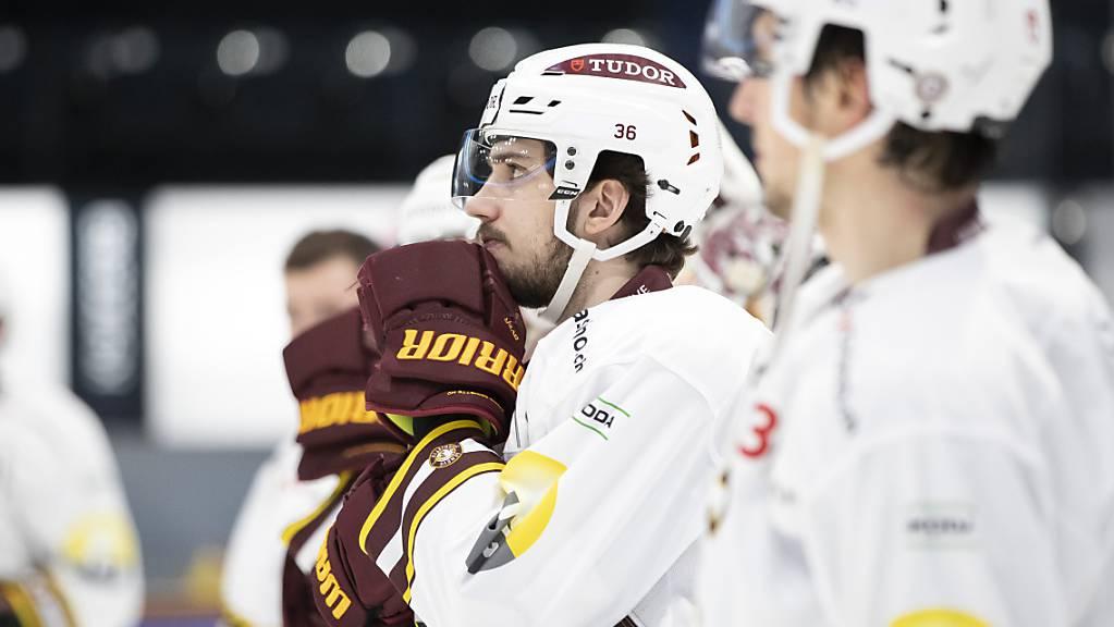Corona-Fall im Team: Den Spielern von Genève-Servette droht erneut eine längere Zwangspause