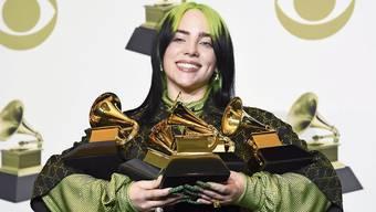 Die grüne Billie Eilish mit ihren 5 Grammys hat das Potenzial zur Greta des Pop.