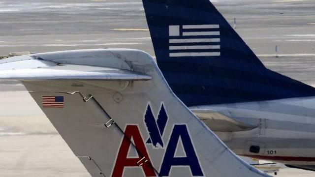 Flugzeuge von American Airlines und US Airways (Archiv)