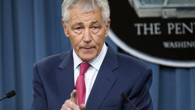 US-Verteidigungsminister Chuck Hagel kündigt die Verstärkung der Raketenabwehr an