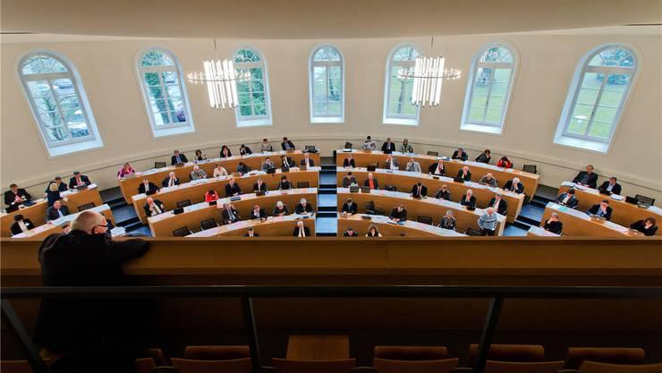Waren in der vergangenen Legislatur nicht untätig: Grossrätinnen und Grossräte.
