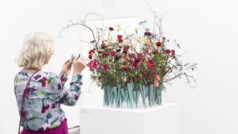 Offizielle Eröffnung der Ausstellung «Blumen für die Kunst» im Aargauer Kunsthaus