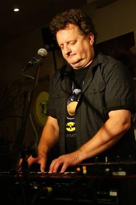 Markus Maggi am Keyboard