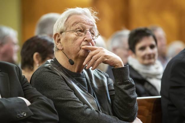 Peter Bichsel redet über Olten und seine dort verbrachte Kindheit