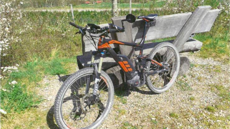 Das E-Bike des Täters