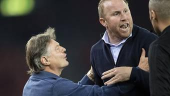 Bei FCZ-Trainer Ludovic Magnin kochten die Emotionen im Klassiker trotz schönem Sieg über
