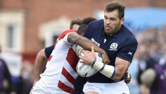 Die Schotten eine Nummer zu gross für Überraschungs-Team Japan