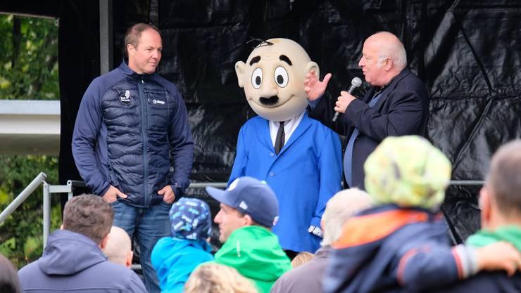 Gelungene Premiere: Gegen 5000 Besucher kamen vor einem Jahr ans erste Papa-Moll-Fest im Kurpark. (Archiv)