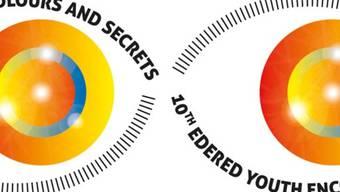 Logo des europäischen Jugendtheatertreffen Edered, das noch bis zum 18. Juli in Rüdlingen SH stattfindet (Ausschnitt, zVg)